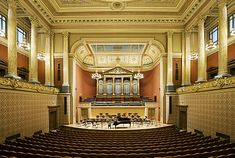The perfect way to end a day in Prague is by going to a classical concert in the Rudolfinum. But if music is not your cup of tea, you can also wander around its galleries.