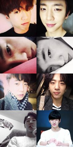 Left side: yongnam Right side: yongguk  THEY LOOK SOO MUCH ALIKE