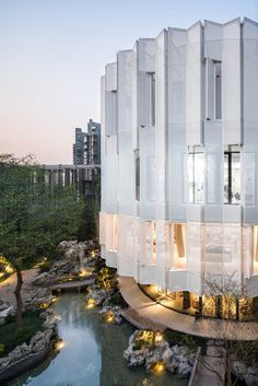 Eight Tenths Garden Wutopia Lab Shanghai China Arts Crafts Museum Architecture Origami, Architecture Design, Chinese Architecture, Modern Architecture House, Facade Design, Amazing Architecture, Exterior Design, Exterior Paint, Shanghai