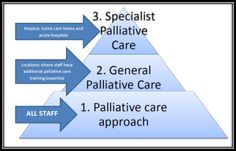 Levels of palliative care -- with the shortage of certified palliative care providers, the challenge is to train/excite non-certified providers to offer high quality basic palliative care.