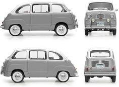 Fiat : Fiat 600 Multipla (1956–1966)