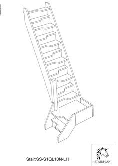 Scegliere tra scala ripida e a pedata sfalsata cerca con for Plano b mobilia