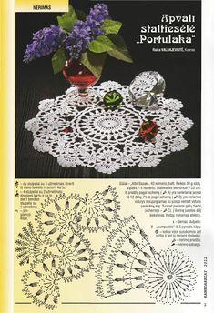 Kira crochet: Crocheted scheme no. 654