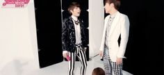 what a true leader does: punch his member 1/2 #sunggyu #woohyun #woogyu