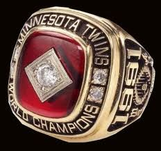 Twins World Series Ring Red Wing Minnesota, Minnesota Wild, Minnesota Vikings, World Series Rings, Minnesota Twins Baseball, Championship Rings, Minnesota Timberwolves, Baltimore Orioles, Class Ring