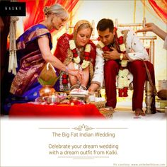 Beautify your wedding with Kalki's contemporary Indian trousseau. Click here for more: http://bit.ly/1pePJuT