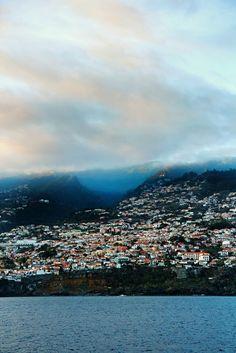 Madeira Auslaufen. Was für eine Sicht. Ich komm wieder!