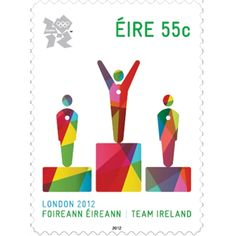 Ireland stamp // London Olympics 2012