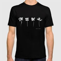 Abstract flowers. An alphabetical logo that appears in Japanese. Surreal and abstract atmosphere. monotone.<br/> What kind of music can we listen to in the distant universe in which this flower blooms?