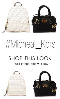 """""""#Micheal_Kors"""" by luzelisea ❤ liked on Polyvore featuring MICHAEL Michael Kors and Michael Kors"""