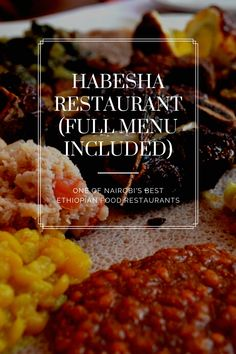 Are you looking for the Habesha Restaurant Nairobi menu? If so, click here to read a review of the restaurant as well as see the full Habesha menu. Nairobi, Menu, Delivery, Wellness, Restaurant, Breakfast, Food, Menu Board Design, Morning Coffee