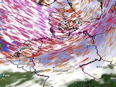 """""""Xaver"""" sorgt für Überschwemmungen und Verkehrsbehinderungen - http://k.ht/3LF"""