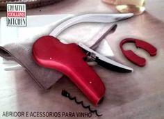 saca rolhas vermelho para vinhos chilenos argentinos francês