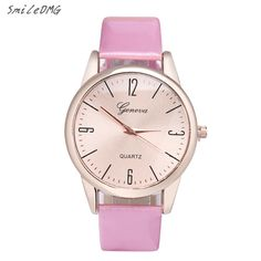 SmileOMG Hot Sale Women Geneva Roman Numerals Leather Band Analog Quartz Wrist Watch Free Shipping Christmas Gift,Sep 5 #Affiliate