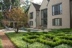Modern French Country - traditional - landscape - birmingham - Golightly Landscape Architecture