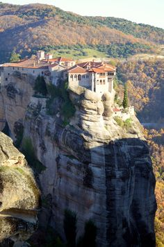 Meteora, Greece-One of The Most Unreal and Stunning Sacred Places on Earth