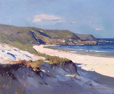 """Colley Whisson - Every Breaking Wave, Oil 11""""x13"""""""