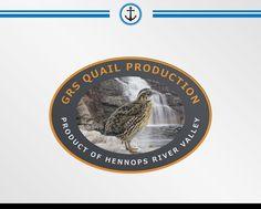 GRS Quail Production Logo Design