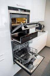 """""""Housing issue"""" helped to decorate the apartment Kitchen Rack, Smart Kitchen, New Kitchen, Küchen Design, Home Design, Farmhouse Kitchen Cabinets, Kitchen Appliances, Kitchen Interior, Kitchen Decor"""