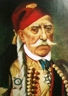 Δημητράκης Πλαπούτας. Greek Independence, Greek History, Traditional Clothes, Posters, Signs, Portrait, Retro, Painting, Art