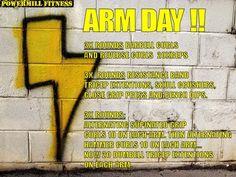 Powermill Fitness Arm Day