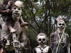 Image: Travis Marshall: Chimbu Skeleton Dancers