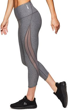 092f69c5ae1d1b RBX Active Women's Workout Lazer Cut Capri Leggings Lazer Cut Black XL at Amazon  Women's Clothing