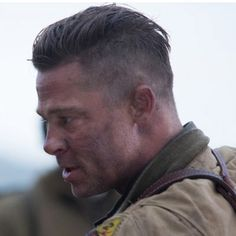 The Brad Pitt Fury hairstyle is a masculine and on trend look for 2014. Here's how to cut and style the slick undercut and how to make it work for you.