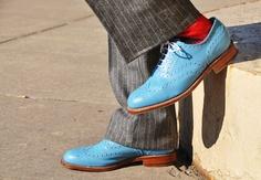 i need blue shoes