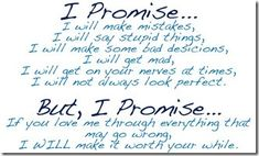 Promise for My Only Love