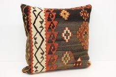 Home Decor Kilim Pillow Cover 24 x 24 Desinger Pillow Trendy Pillow Vintage Pillow Big Pillow Huge Pillow Ethnic Pillow by kilimwarehouse on Etsy Big Pillows, Kilim Pillows, Throw Pillows, Handmade Pillow Covers, Vintage Pillows, Ethnic, Reusable Tote Bags, Unique Jewelry, Handmade Gifts
