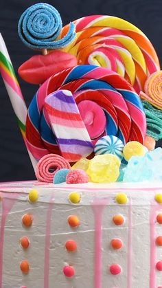 Yummy Treats, Delicious Desserts, Dessert Recipes, Yummy Food, Creative Kids, Creative Cakes, Cake Hacks, Kids Cooking Recipes, My Birthday Cake