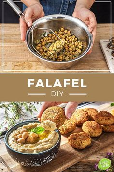 Rezept für Falafel - How To Eat Healthy Healthy Cooking, Baby Food Recipes, Easy Dinner Recipes, Healthy Dinner Recipes, Healthy Snacks, Vegan Recipes, Easy Meals, Healthy Eating, Roti