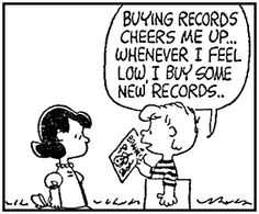 Seven things we can learn from Schroeder. This one is taken from April 08, 1963 strip: 2. music is food for the soul.