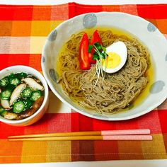 オクラと椎茸のスープ - 5件のもぐもぐ - 韓国式冷麺! by shioori1105
