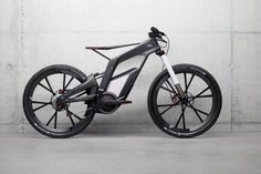 Audi e-Bike includes computer assist trick riding tutor. Amaaaizing! #tech