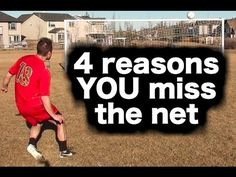 4 reasons YOU miss the net and how you can become an accurate shooter & goal scorer: https://www.youtube.com/watch?v=tZw8o4fZ5io