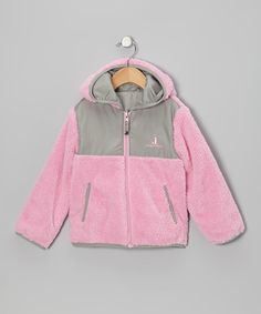Fuzzy and warm with faux sherpa on the outside and a cool, smooth lining, this nifty coat can be turned inside-out for a change of texture and color! Slit pockets and a Rugged Bear logo lend extra-sweet style and convenience.100% polyesterMachine wash; tumble dryImported