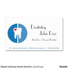 71 best dental dentist office business card templates images on elegant teeth logo dentist dental business card flashek Images