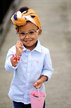 This little girl via #prepfection