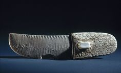 More than 200 animals of 19 different species march across the handle of this knife, which was crafted from flint and elephant ivory, sometime between 3300 and 3100 B.C., during Egypt's Predynastic Period. A group of scientists drew from artifacts like this one to understand patterns of species extinction over about 6,000 years of Egypt's history. Credit: Brooklyn Museum, Charles Edwin Wilbour Fund