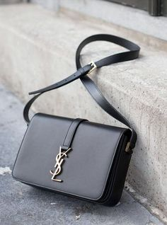 Classic Medium Monogram Université shoulder bag by Yves Saint Laurent #styleinspiration #thewantedlist