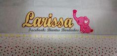 Fralda grande de passeio bordada em Ponto Russo - Facebook: Biartes Bordados
