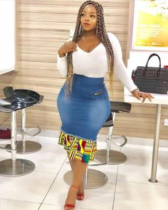 latest beautiful creative ankara gown styles for ladies, classy ankara creative gown styles for curvy ladies African Fashion Skirts, African Fashion Designers, African Inspired Fashion, African Print Fashion, Africa Fashion, Skirt Fashion, African Attire, African Wear, African Dress
