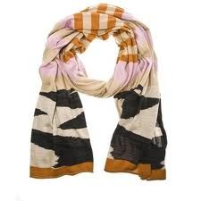 cute zebra striped scarf
