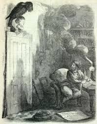 As of some one gently rapping rapping at my chamber door. & Gustave Doré\u0027s illustration for Poe\u0027s The Raven 1884 edition ... Pezcame.Com