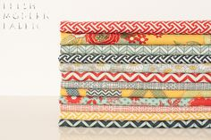 Fat Quarter Bundle: PB by BasicGrey, Moda Fabrics, 100% Cotton Fabric. $36.00, via Etsy.