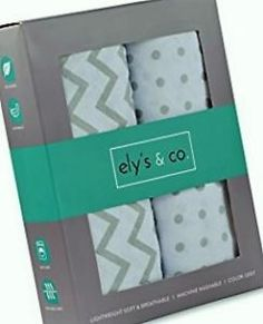 Changing Pad Cover Set, Cradle Sheet 2 Pack Jersey Cotton Unisex Sheets for Baby Girl and Baby Boy Grey Chevron and Polka Dots by Ely's & Co. Baby Doll Bed, Doll Beds, Baby Beds, Cradle Bedding, Bedding Sets, Bedside Sleeper, Best Crib, Baby Bjorn, American Baby