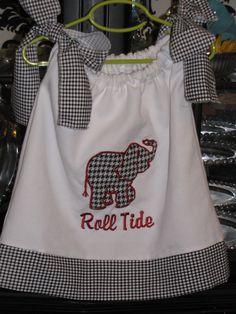 Alabama Elephant Dress. $32.00, via Etsy.
