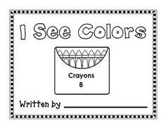 I See Colors (freebie) Preschool Color Theme, Kindergarten Colors, Kindergarten Language Arts, Preschool Literacy, Preschool Printables, Preschool Lessons, Kindergarten Reading, Kindergarten Activities, Smart Board Activities
